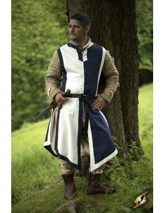 Basic Tabard - Blue/Offwhite