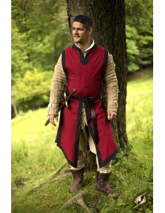Basic Tabard - Dark Red