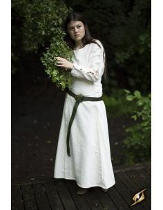 Priestess Dress - White