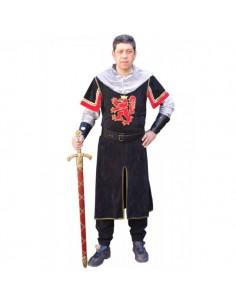 Traje medieval Templar...