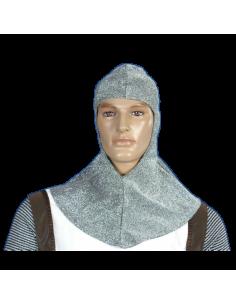 Verdugo medieval plata hombre
