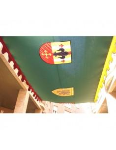 Sombra Greca  escudos 5 x...
