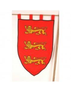 Estandarte medieval Leones