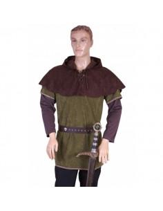 Capelina medieval Robin Hood