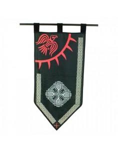 Bandera Vikinga Cuervo.
