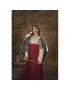 Vestido vikingo mujer...