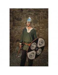 Túnica Vikinga Sigurd verde