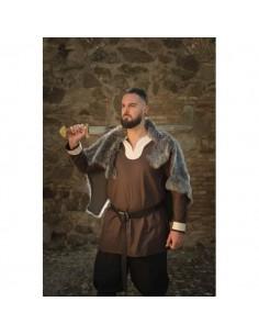 Túnica Vikinga Sigurd marrón