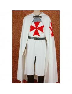Capa Templario Broche piel...