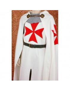 Capa Templario Broche cuero
