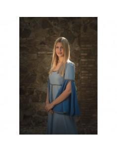 Vestido medieval Munia Azul