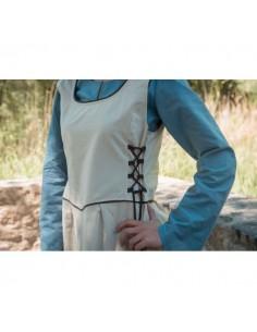 Blusa medieval mujer azul