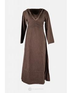 Lagertha - Kleid braun