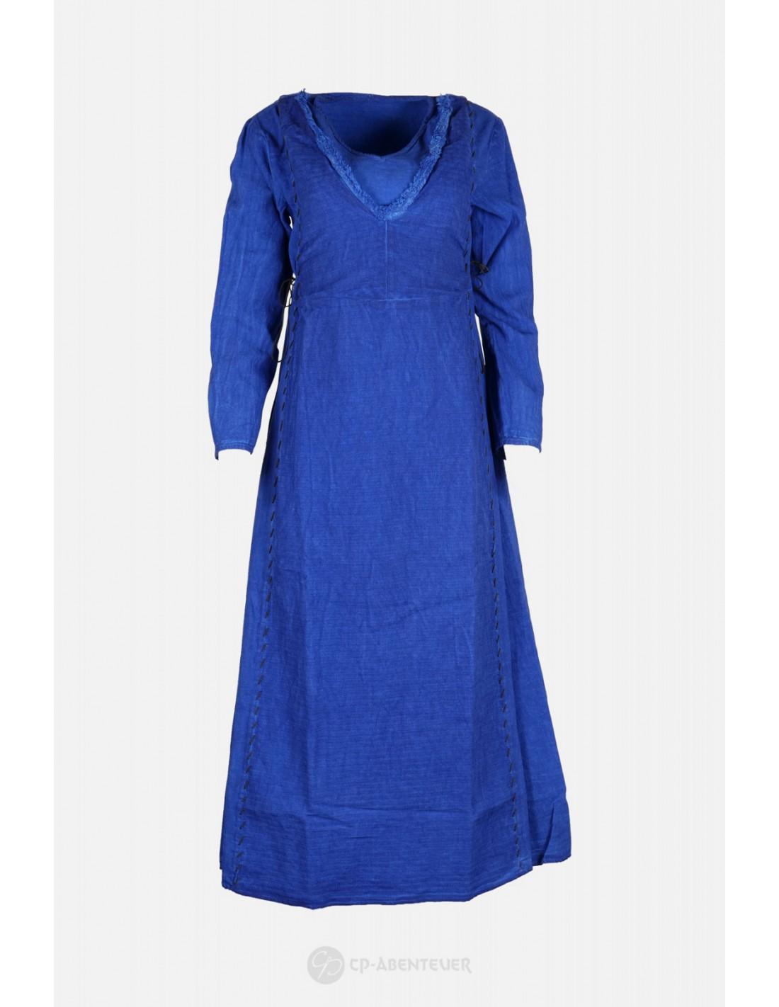lagertha - kleid blau