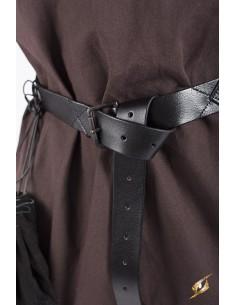 Cinturón Medieval X - Negro...