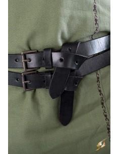 Cinturón Gemelo - Negro -...