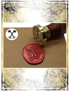 Wax Seal Stamp - Keys Cross