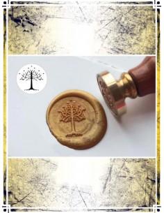 Wax Seal Stamp - White Tree