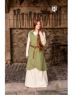 Wrap Dress Runa - Linden Green
