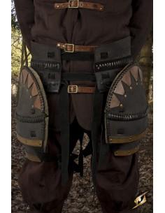 Cinturón Guerrero Orco con...