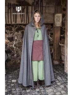 Hooded Cloak Hibernus - Wool Grey