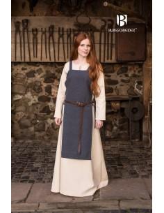 Apron Dress Gyda - Grey