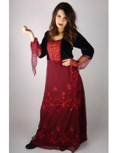 Vestido Gótico con Tul
