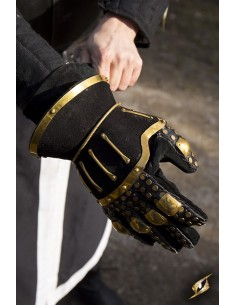 Hourglass Gauntlets - Black