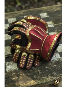 Hourglass Gauntlets - Red