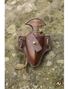 Push Dagger Holder - Brown