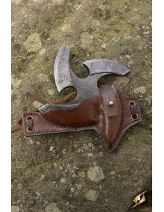 Black Shuriken Holder - Brown