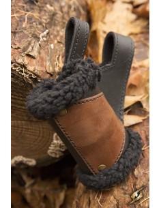 Holder - black Fur, black /...
