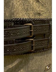Cinturón Bárbaro - Negro -...