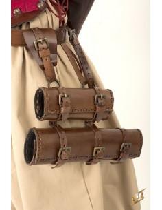 Double Hanger - Brown