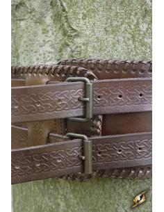 Cinturón Bárbaro - Marrón -...