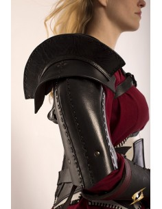 Shoulder Armour - Black - M