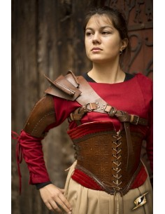 Shoulder Armour - Brown - L