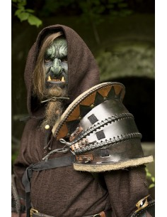 Orc Shoulder Armour - Black