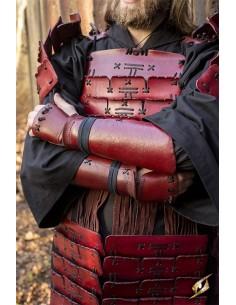 Brazales de Samurai - Rojo - M