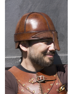 Warrior Helmet - Brown