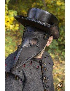 Plague Doctor Mask - Black