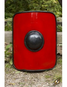 Escudo Gladiador Rojo