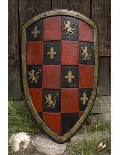 Escudo de Cuadros - Red