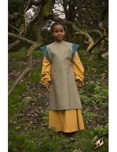Dress Asta - Dryad Green/Blue