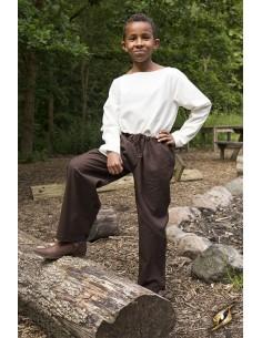 Pants Sam - Dark Brown -
