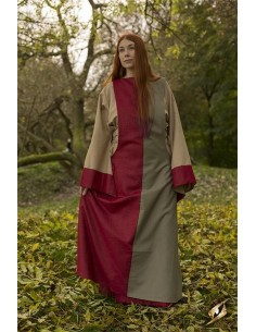 Dress Runa - Dark Red/Dryad...