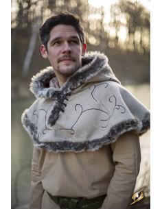 Hood - Fur - Desert Beige