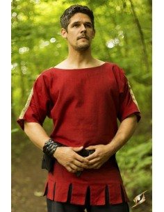 Roman Tunic - Dark Red