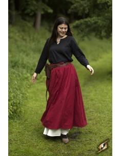Basic Skirt - Dark Red