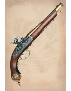 Pistola Barbanegra Dorada